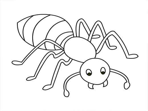 desenho-de-formiga